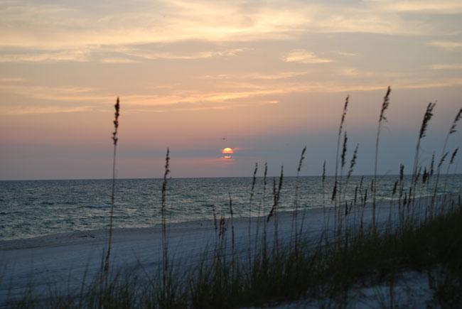 Sunset at Panama City Beach