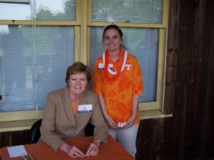 Pat Summitt at the 2005 Big Orange Caravan Birmingham, AL